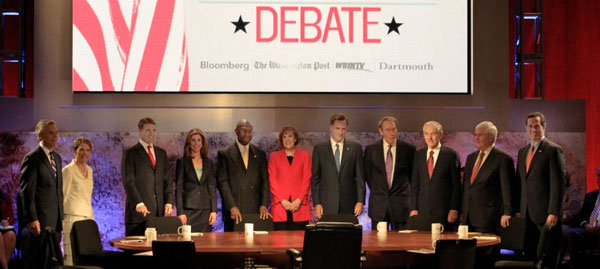 New Hampshire GOP Presidential Debate